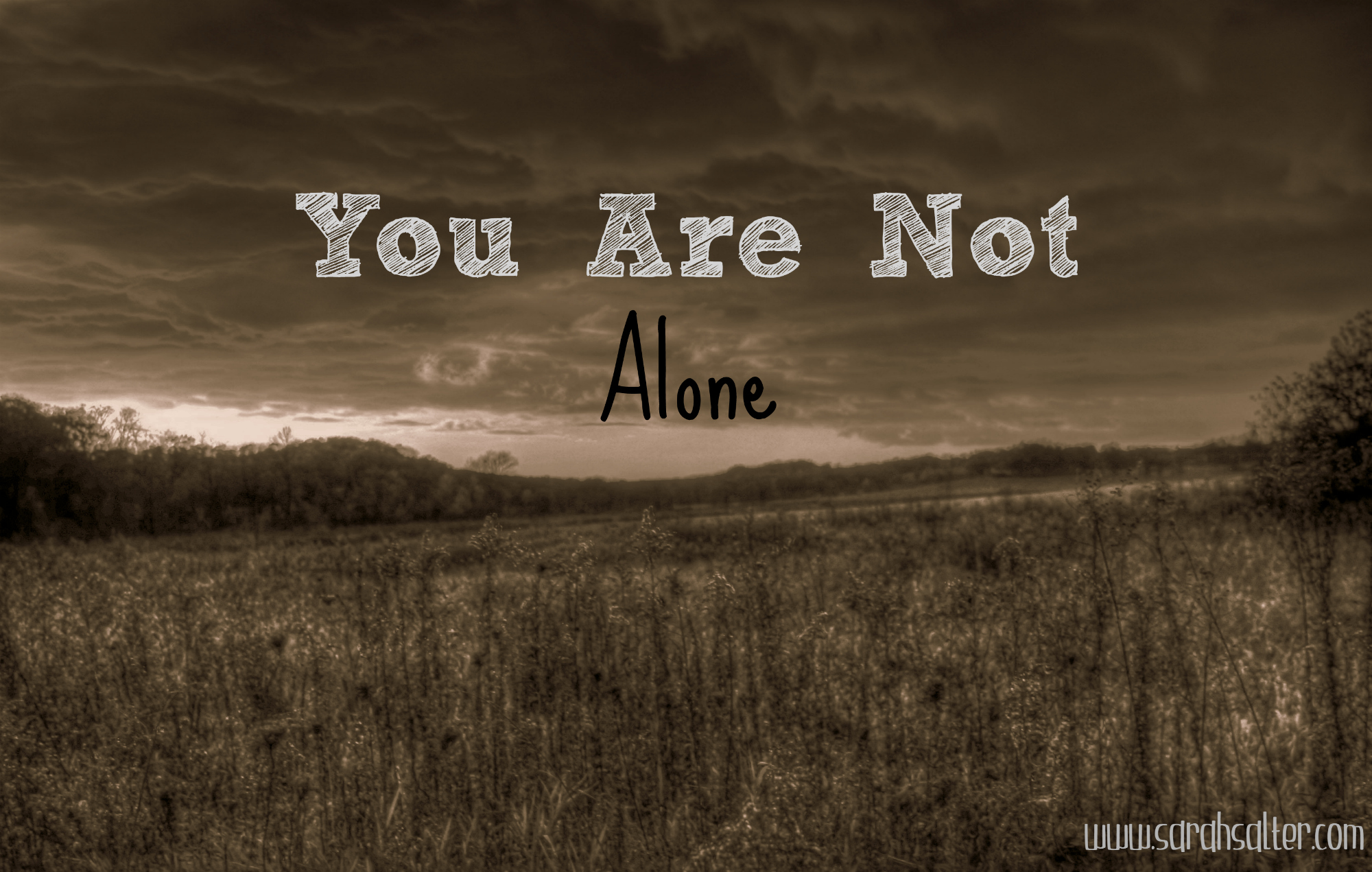 You Are Not Alone Pictures, Photos, and Images for